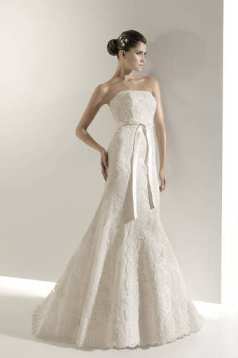 DOSKA.by: Свадебное платье. белое, размер 44